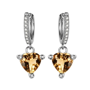 Yellow Topaz Earring