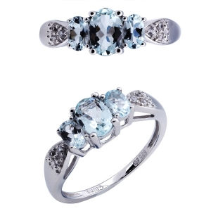 Acquamarine Stone Ring